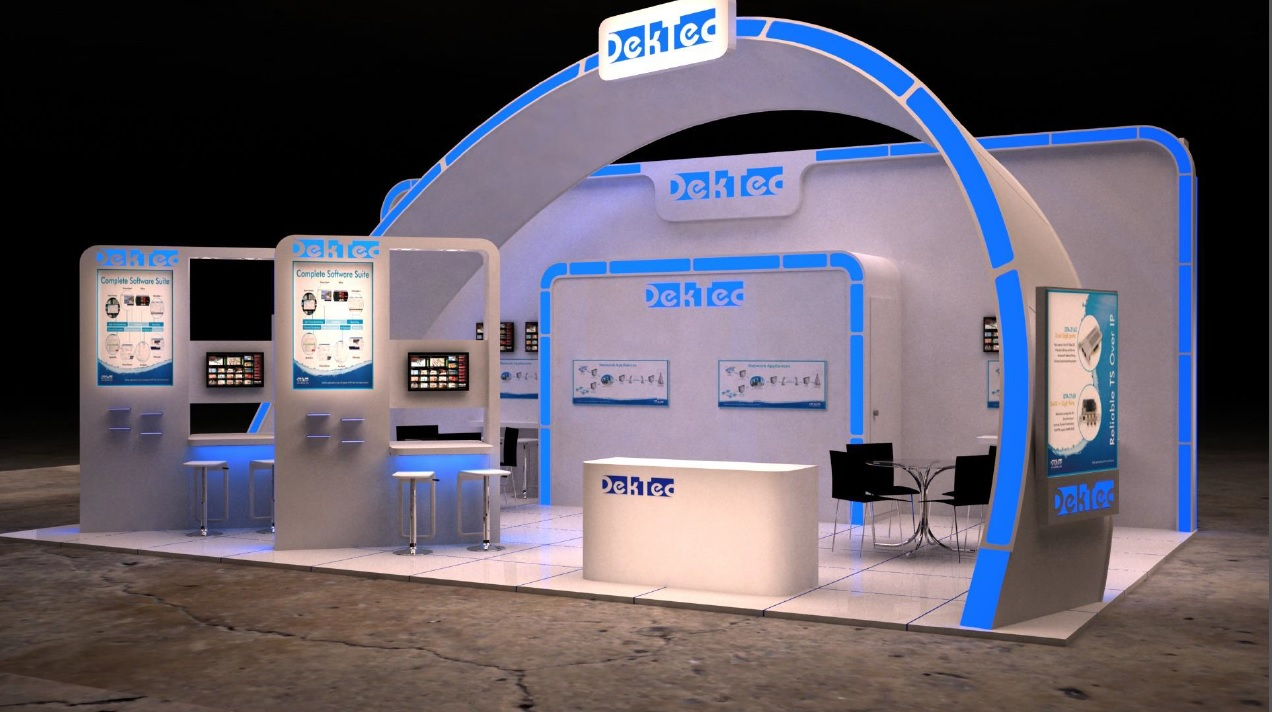 Saudi Trade Show Booth Design Gallery. Image Source